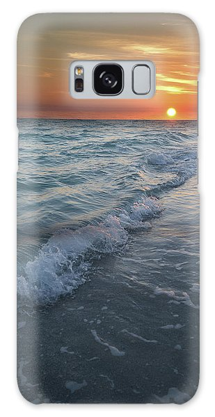 Shoreline Sunset Galaxy Case