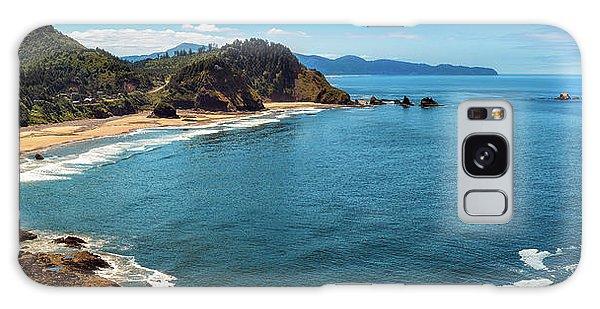 Short Beach, Oregon Galaxy Case