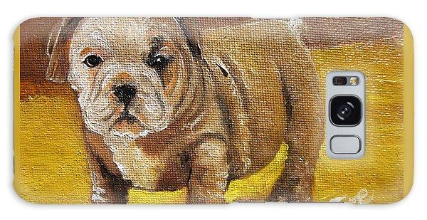 Chloe The   Flying Lamb Productions      Shortstop The English Bulldog Pup Galaxy Case