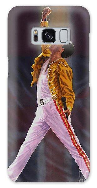 Mercury Galaxy Case - Freddie Mercury  Queen Show Must Go On by Alex Artman
