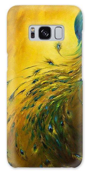 Show Off 1 Vertical Peacock Galaxy Case