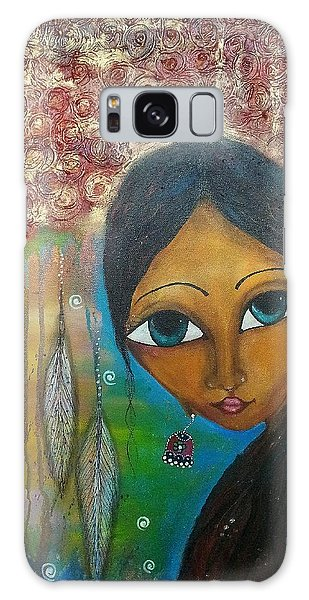Shower Of Roses Galaxy Case by Prerna Poojara