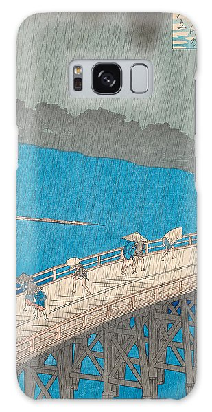 Hundred Galaxy Case - Shower Over Ohashi Bridge by Hiroshige