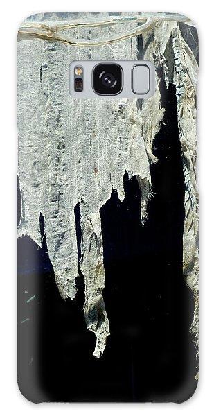 Shredded Curtains Galaxy Case