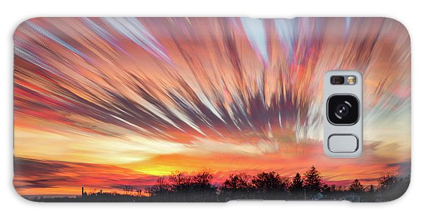 Shredded Sunset Galaxy Case