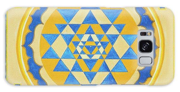 Shri Yantra For Meditation Painted Galaxy Case
