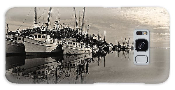 Shrimp Boats On The Altamaha Galaxy Case