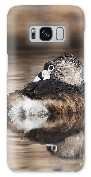 Shy Grebe Galaxy Case