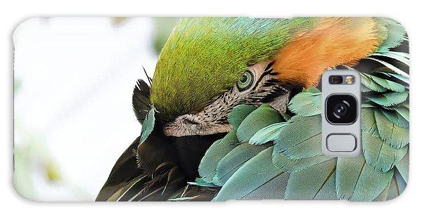 Shy Macaw Galaxy Case