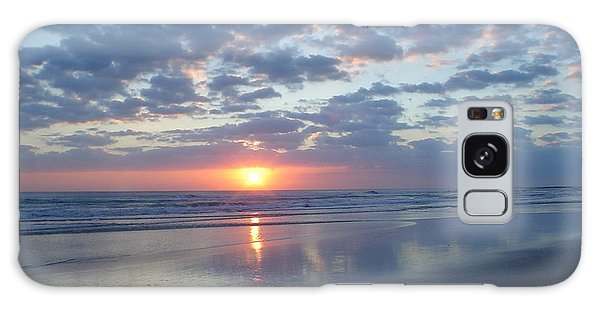 Shy Sunrise Galaxy Case by Cheryl Waugh Whitney