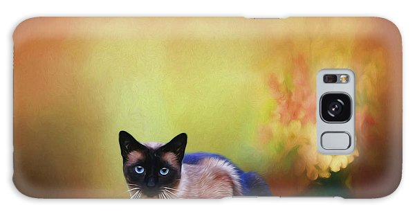 Siamese If You Please Galaxy Case by Suzanne Handel