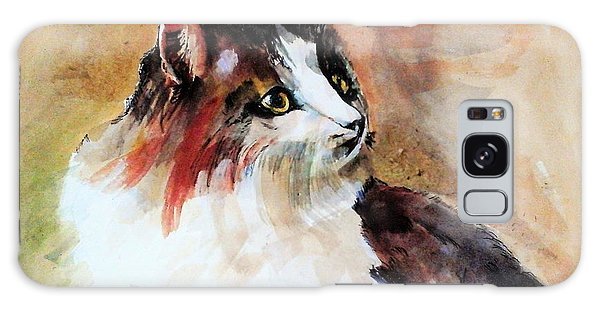 Siberian Forest Cat Galaxy Case