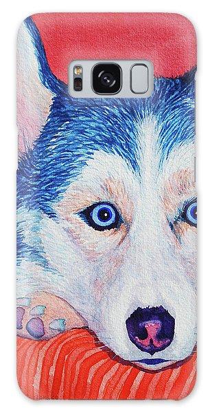 Siberian Husky Galaxy Case