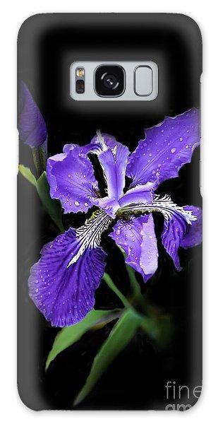 Siberian Iris Galaxy Case by Marilyn Carlyle Greiner