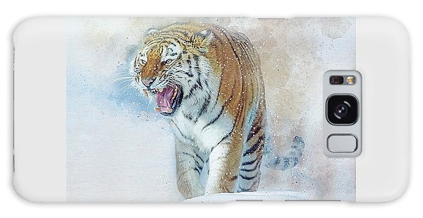 Siberian Tiger In Snow Galaxy Case