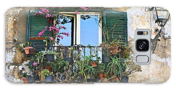 Sicilian Balcony Galaxy Case