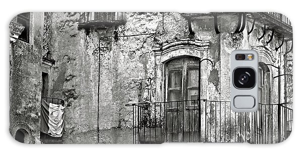 Sicilian Medieval Facade Galaxy Case