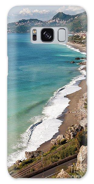 Sicilian Sea Sound Galaxy Case