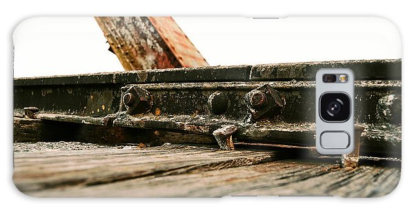 Side Of Rail #photography #trains Galaxy Case