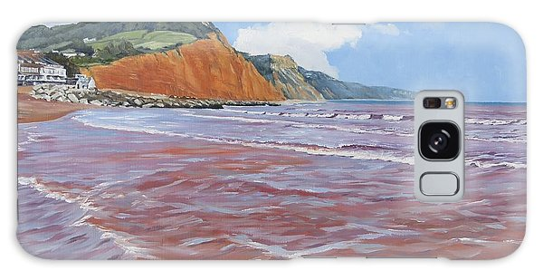 Galaxy Case featuring the painting Sidmouth by Lawrence Dyer