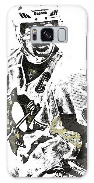 Sidney Crosby Pittsburgh Penguins Pixel Art 4 Galaxy Case by Joe Hamilton