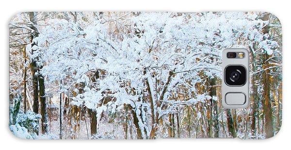 Siebold Viburnum In Snow Galaxy Case