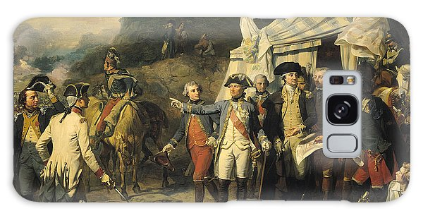 Joseph Galaxy Case - Siege Of Yorktown by Louis Charles Auguste  Couder