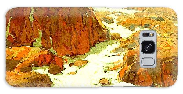Sierra Landscape Circa 1920 Galaxy Case