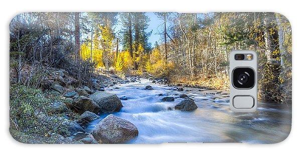 Sierra Mountain Stream Galaxy Case