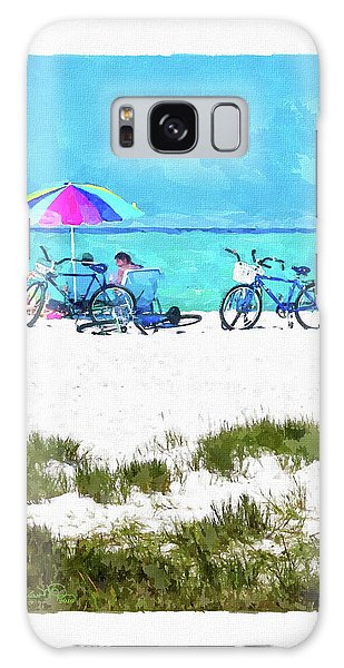 Siesta Key Beach Bikes Galaxy Case
