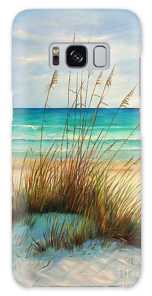 Florida Galaxy Case - Siesta Key Beach Dunes  by Gabriela Valencia