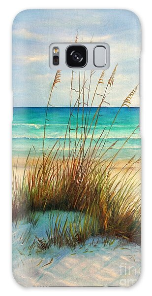 Dunes Galaxy Case - Siesta Key Beach Dunes  by Gabriela Valencia