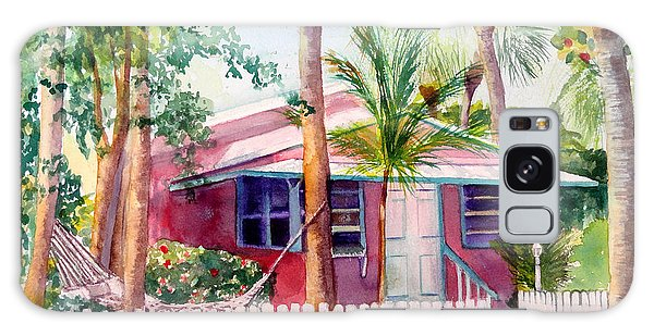 Siesta Key Cottage Galaxy Case
