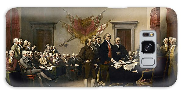 Historical Galaxy Case - Signing The Declaration Of Independence by War Is Hell Store