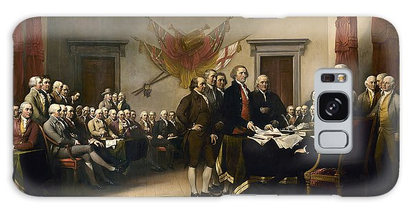 Thomas Jefferson Galaxy Case - Signing The Declaration Of Independence by War Is Hell Store