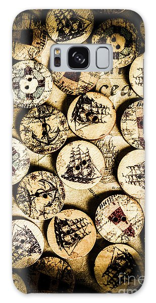 Navigation Galaxy Case - Signs Of Seafaring by Jorgo Photography - Wall Art Gallery