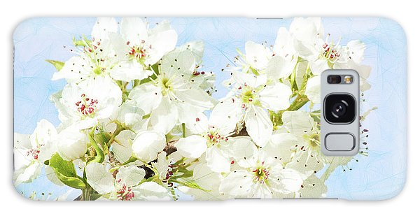 Signs Of Spring Galaxy Case by Inspirational Photo Creations Audrey Woods