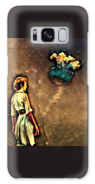 Silence Must Be Heard Galaxy Case by Vennie Kocsis