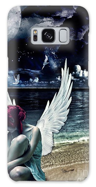 Mo Galaxy Case - Silence Of An Angel by Mo T