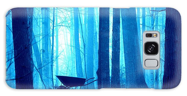 Galaxy Case featuring the photograph Silent Forest by Al Fritz