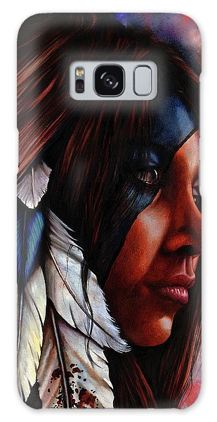 Silent Grace Galaxy Case