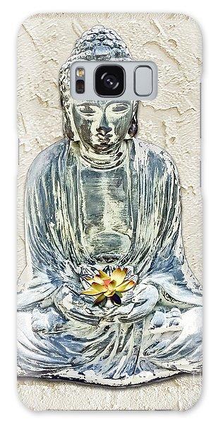 Silent Meditation Galaxy Case