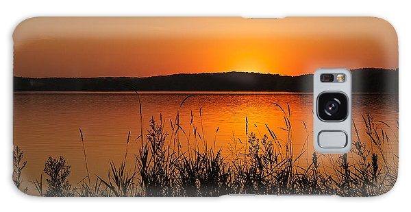 Silent Sunset Galaxy Case by Penny Meyers