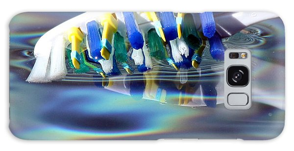 Silent Toothbrush Galaxy Case