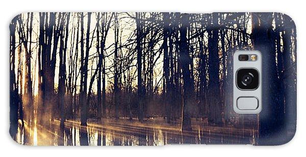 Silent Woods No 4 Galaxy Case