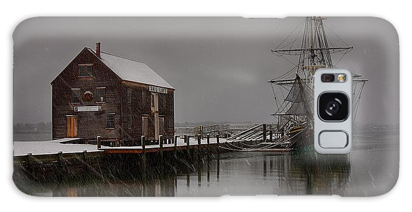 Silently The Snow Falls. Galaxy Case by Jeff Folger