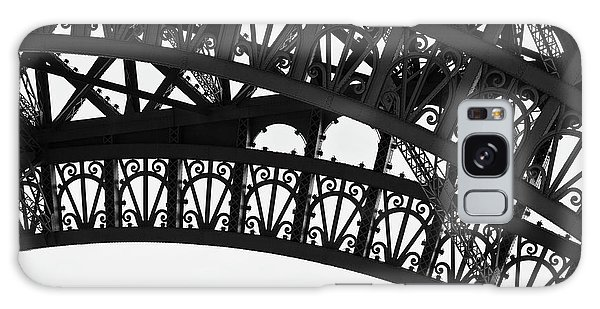 Silhouette - Paris, France Galaxy Case