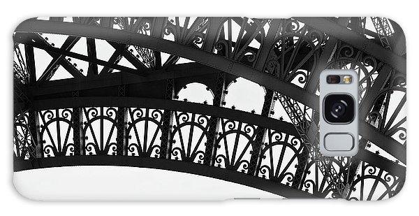 Silhouette - Paris, France Galaxy Case by Melanie Alexandra Price