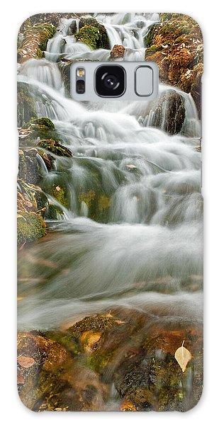 Silky Waterfall Galaxy Case
