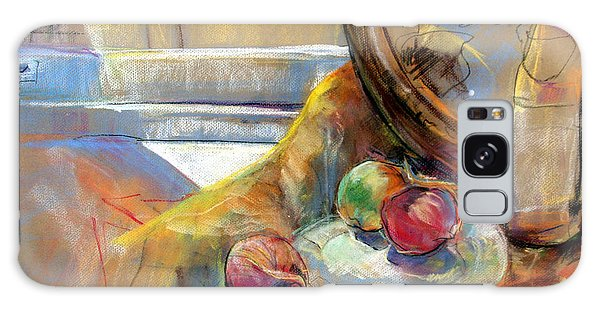 Sill Life With Onions Galaxy Case by Daun Soden-Greene